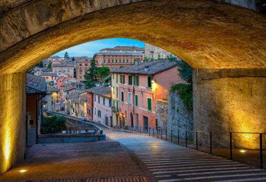 acquedotto medievale di Perugia