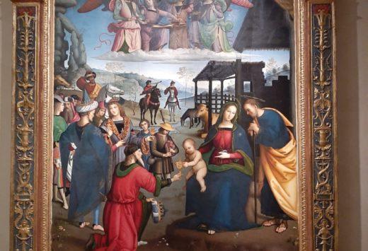 Uno dei capolavori della Galleria Nazionale dell'Umbria
