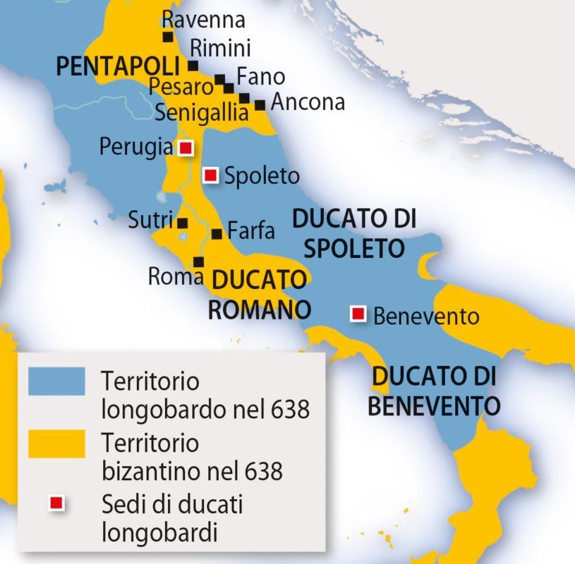 Longobardi storia Umbria